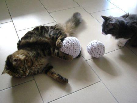 Juguete de trapillo con esencia de valeriana (para mascotas)