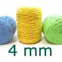 Cuerda de algodón torcido de 4mm